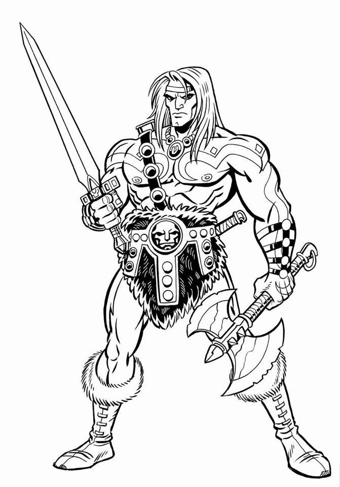 how to draw a barbarian barbarian drawing pencil sketch colorful realistic art barbarian draw to how a