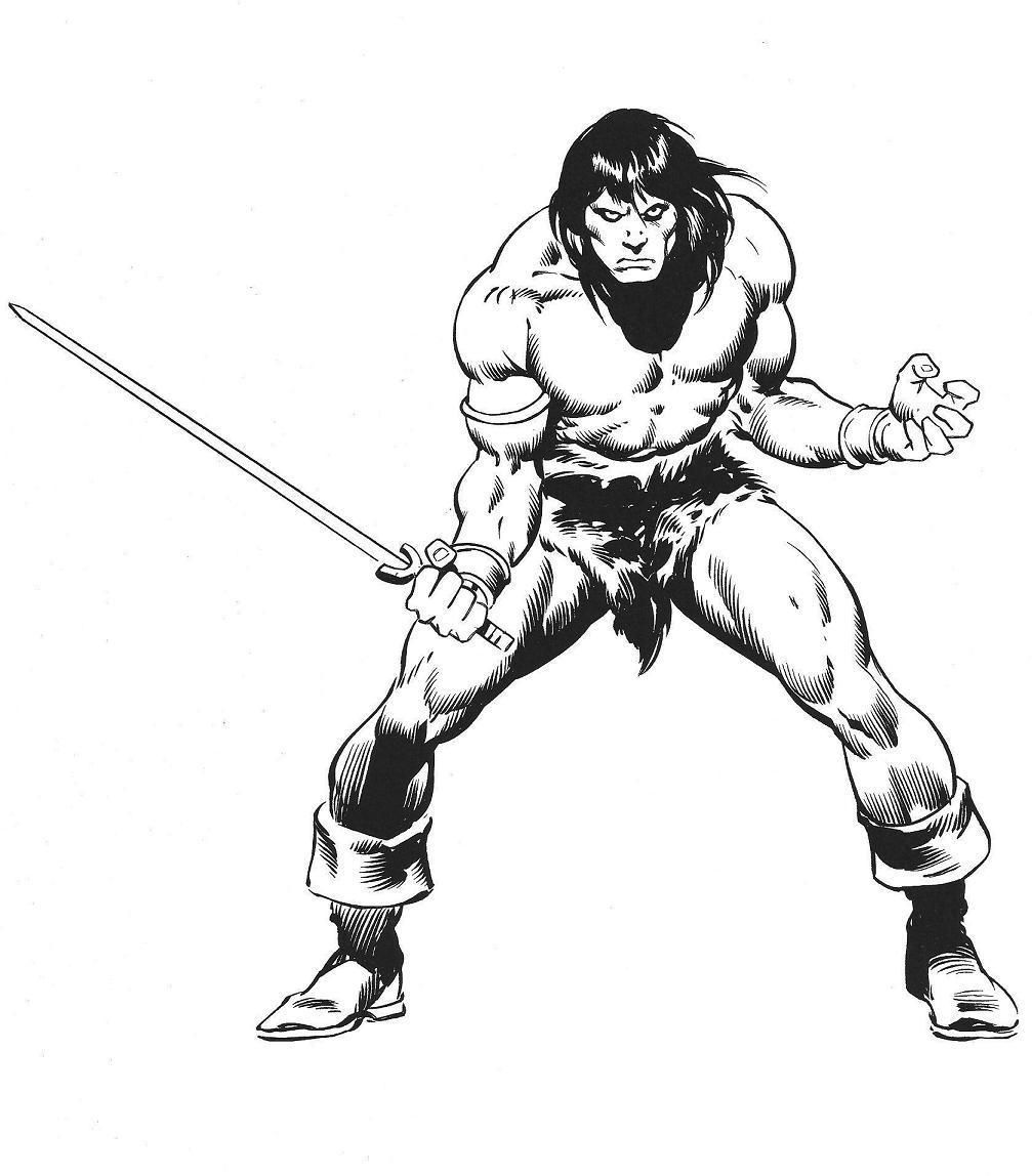 how to draw a barbarian conan barbarian line drawing take another road to barbarian a how to draw