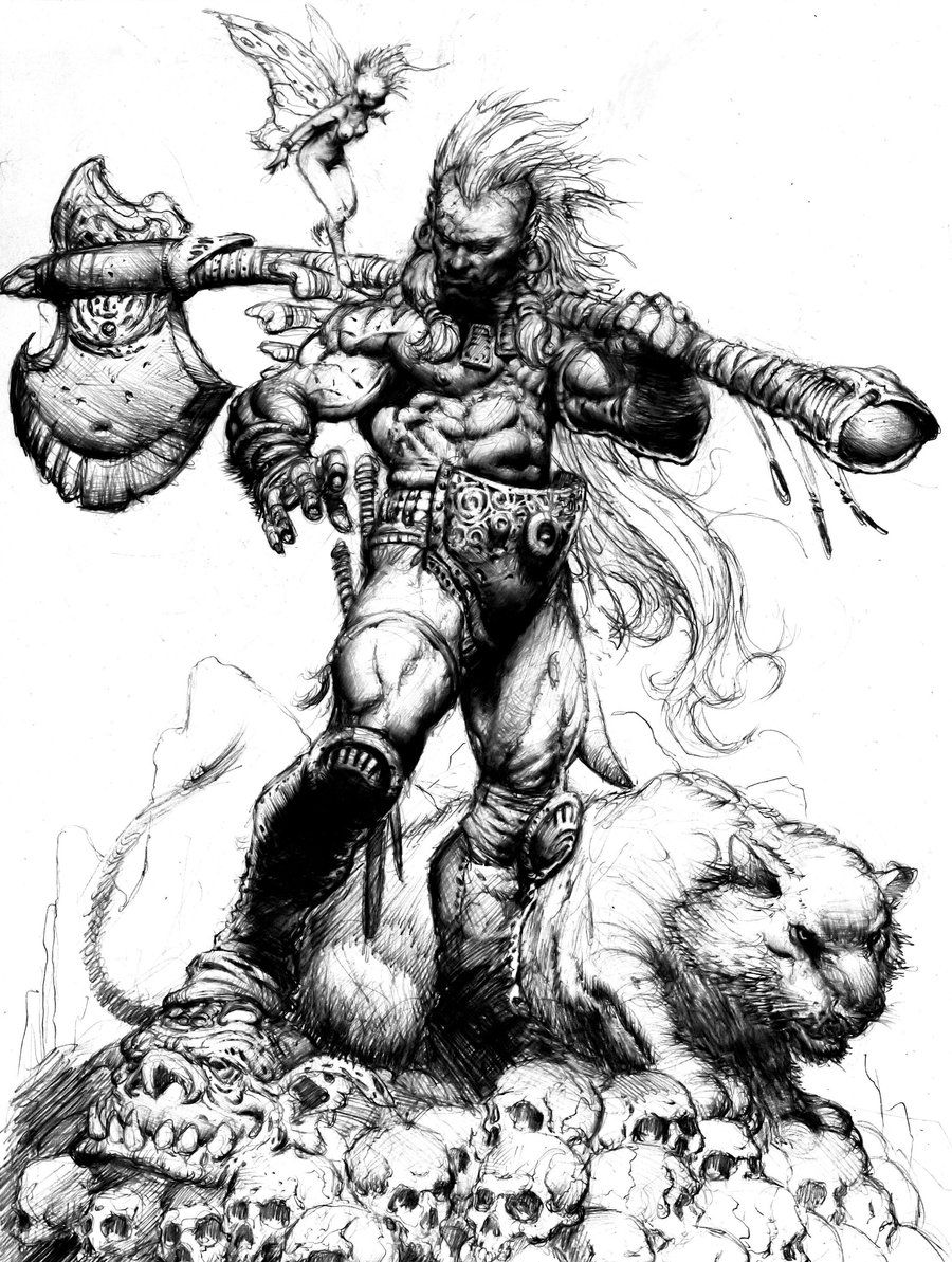 how to draw a barbarian how to draw conan the barbarian step by step dark horse how to draw barbarian a