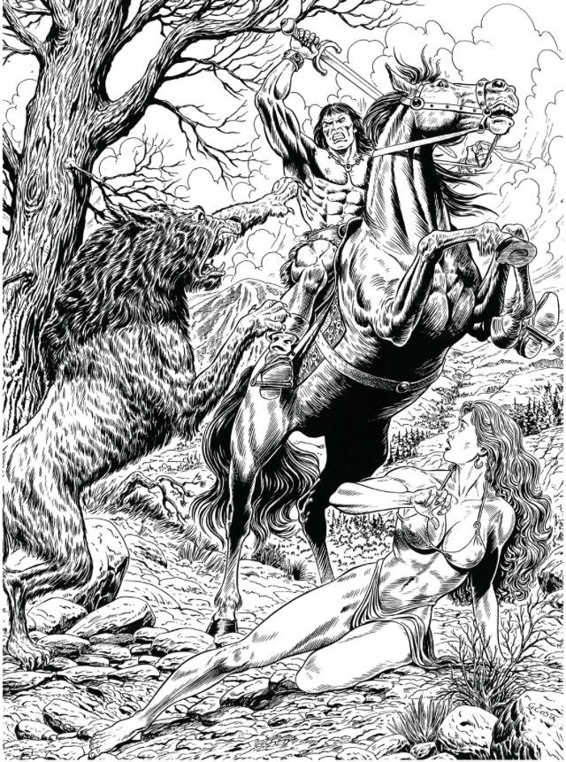 how to draw a barbarian pin by strme on conan the barbarian sketches comic to barbarian a how draw