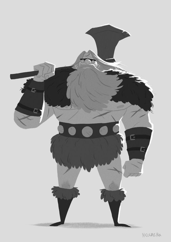 how to draw a barbarian simple barbarian drawing character design inspiration barbarian a draw how to