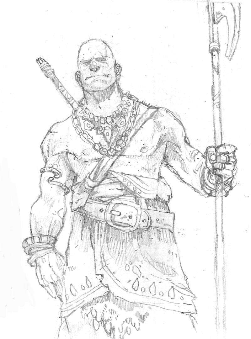how to draw a barbarian the barbarian from the eternal game fantasy general a how barbarian to draw