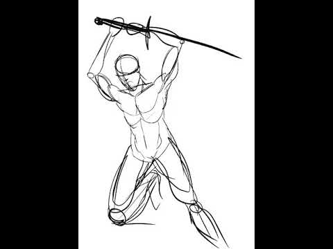 how to draw a barbarian time lapse drawing barbarian warrior youtube how to a barbarian draw