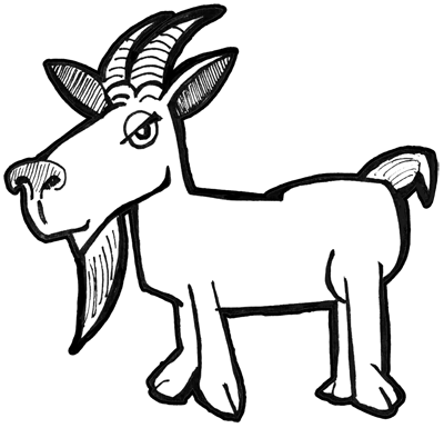 how to draw a billy goat drawing lessons for children kids can learn how to draw draw billy how goat to a