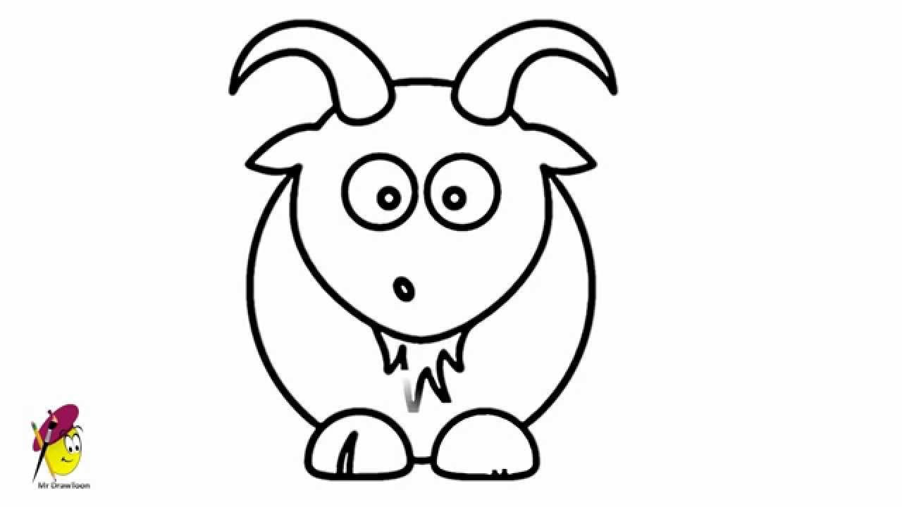 how to draw a billy goat how to draw a billy goat step 5 goat art goat paintings to a goat draw billy how