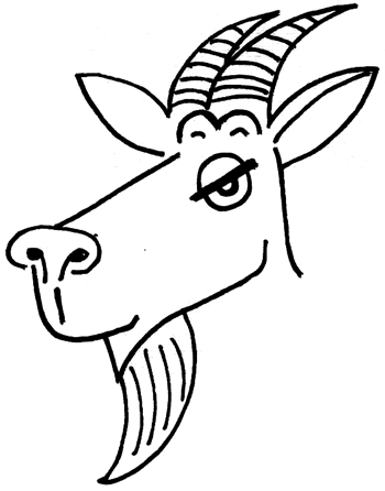 how to draw a billy goat how to draw cartoon billy goats with simple drawing goat billy a to draw how
