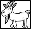 how to draw a billy goat image result for easy to draw goat easy drawings goat to goat draw how billy a
