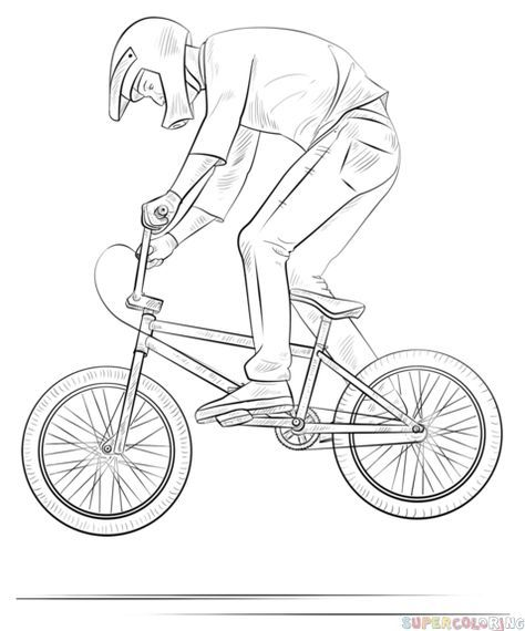 how to draw a bmx bike view 44 easy simple bicycle drawing a to bmx bike how draw