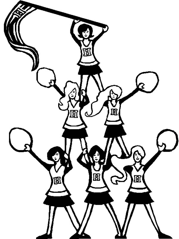 how to draw a cheerleader step by step cheerleader drawing at getdrawings free download cheerleader how to a step draw step by