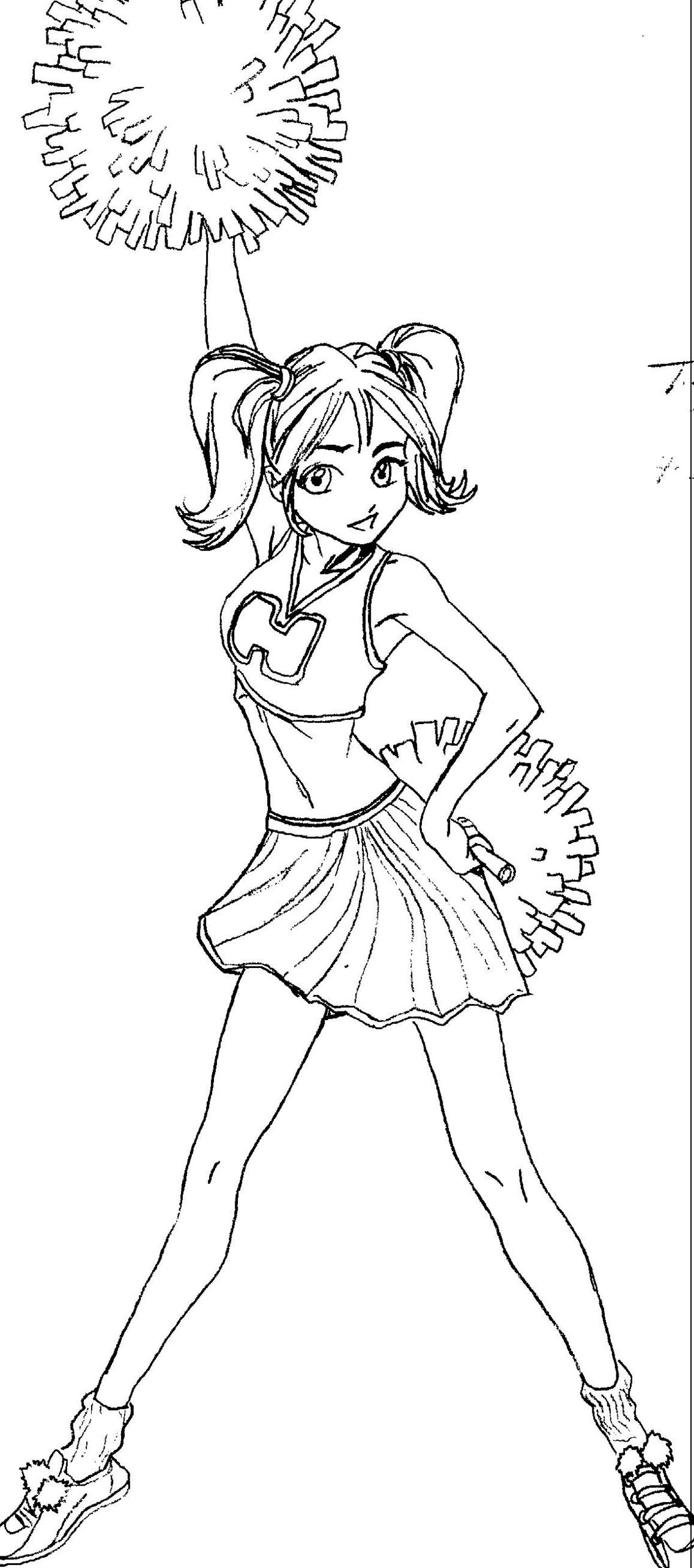 how to draw a cheerleader step by step free cheerleader drawing download free clip art free step how step draw a to cheerleader by