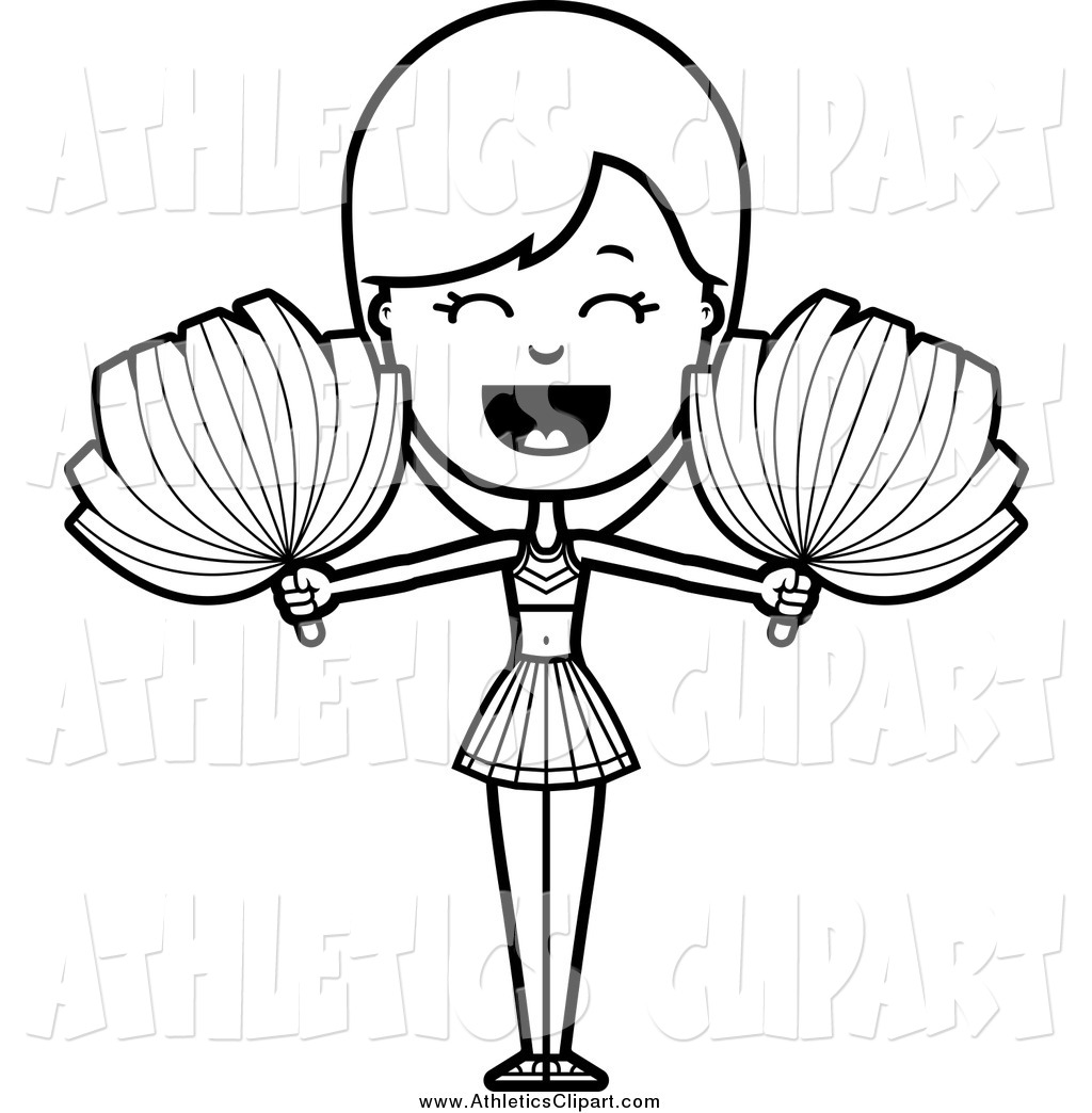 how to draw a cheerleader step by step pom pom drawing at getdrawings free download by step a to how cheerleader step draw