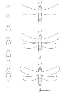 how to draw a dragonfly for kids easy drawing guides on twitter quotlearn how to draw a great how a kids to dragonfly draw for