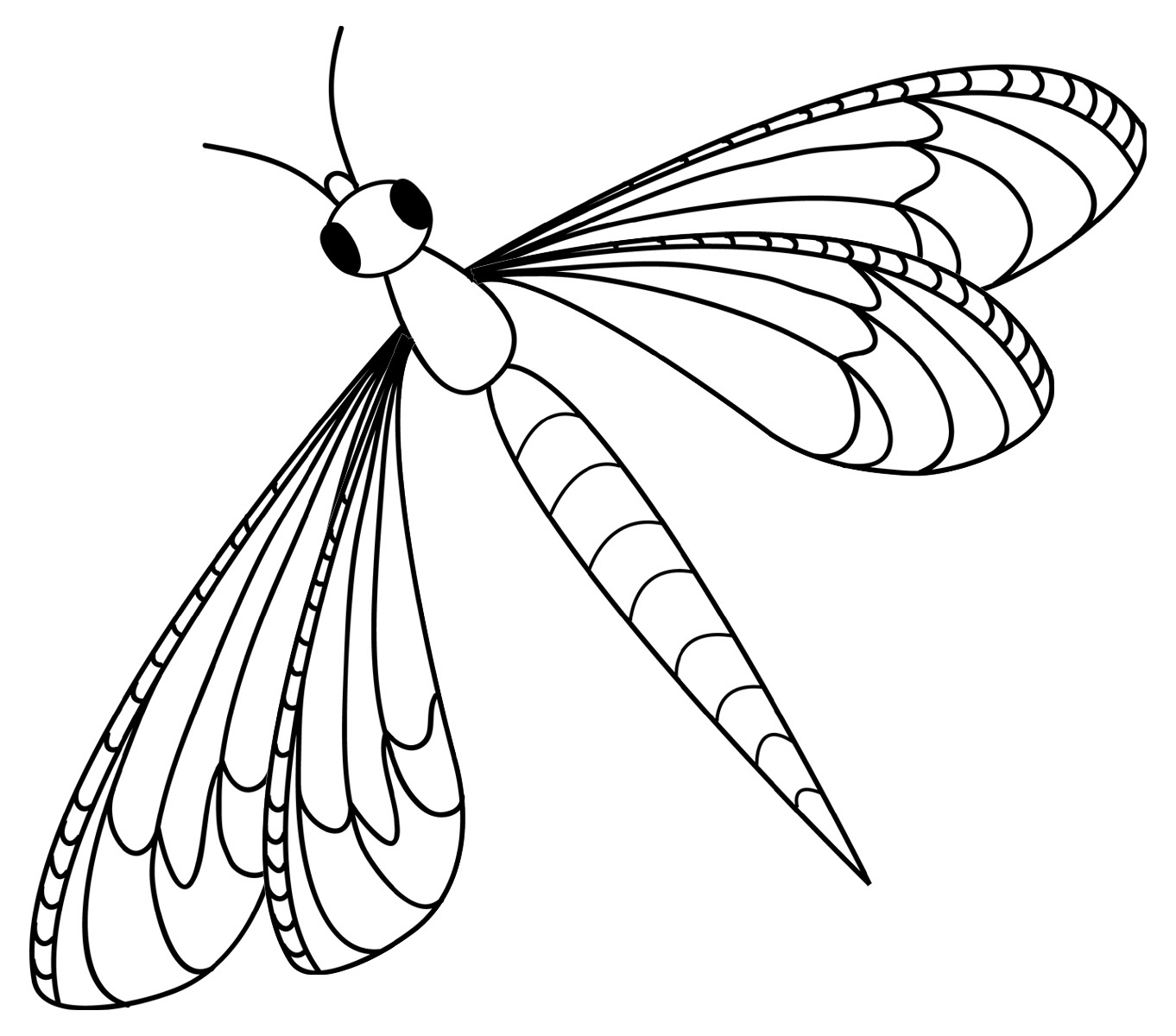 how to draw a dragonfly for kids realistic dragonfly coloring page free animal coloring how kids draw a dragonfly to for