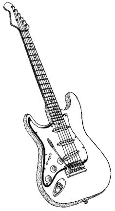 how to draw a electric guitar step by step draw an electric guitar in photoshop guitar draw by step a step electric to how