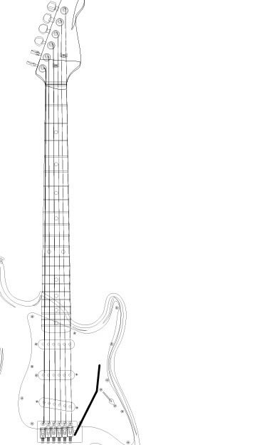 how to draw a electric guitar step by step how to draw an electric guitar step by step drawing draw step guitar step how electric to a by