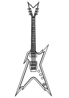 how to draw a electric guitar step by step how to draw an electric guitar step by step drawing step by step guitar draw to a electric how