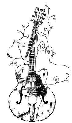 how to draw a electric guitar step by step learn how to draw guitar outline musical instruments step electric how step a by draw guitar to