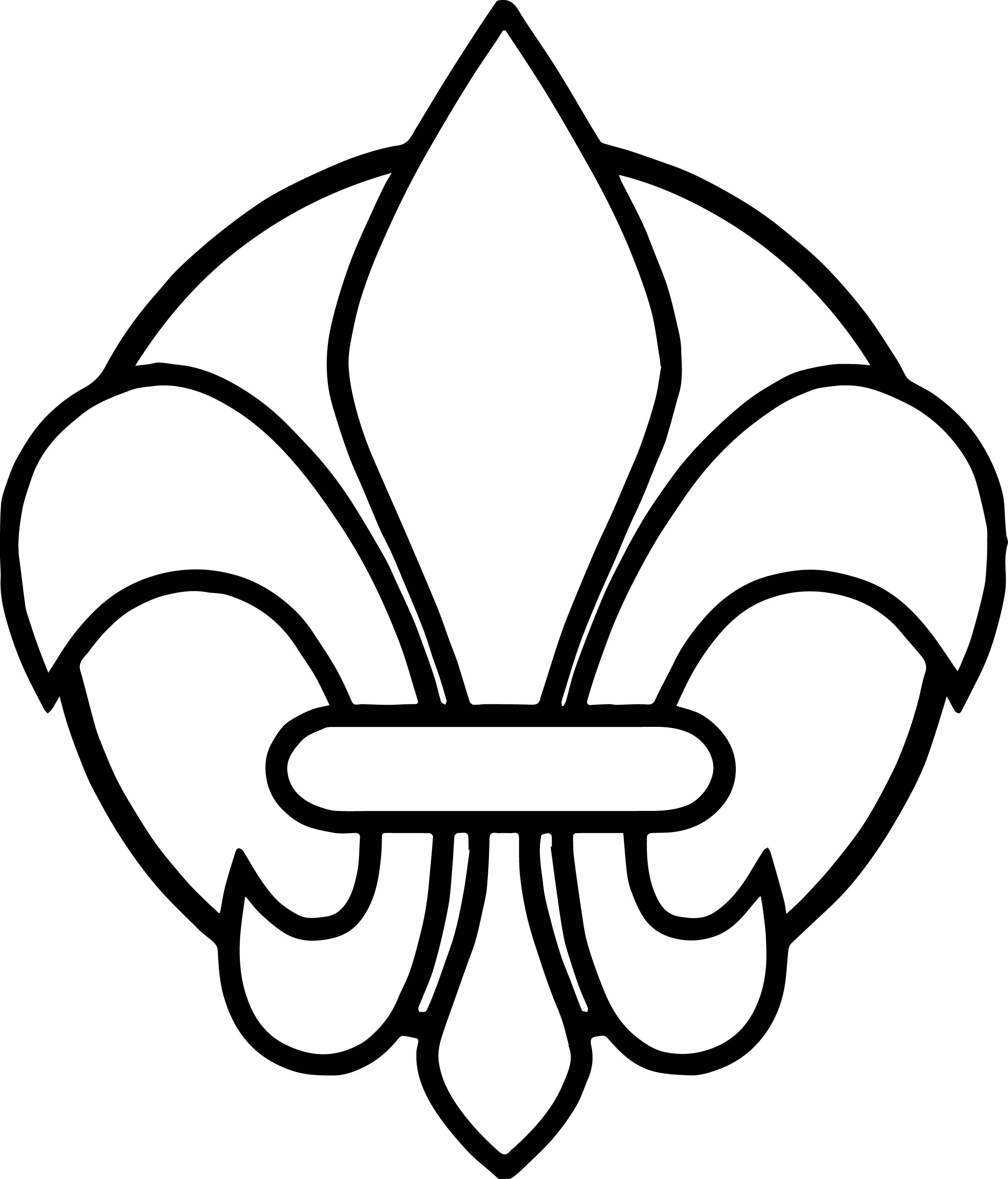 how to draw a fleur de lis learn how to draw fleur de lis symbols step by step fleur how de a lis draw to