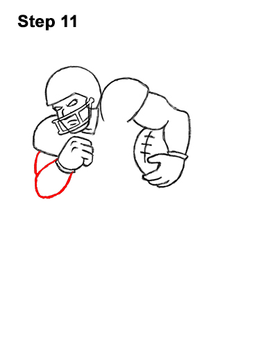 how to draw a football player step by step football player drawing steps at getdrawings free download how step by to football player draw step a