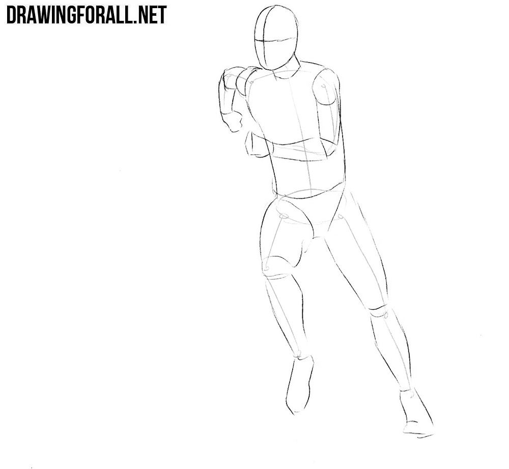 how to draw a football player step by step learn how to draw bastian schweinsteiger footballers step draw a step to by how football player