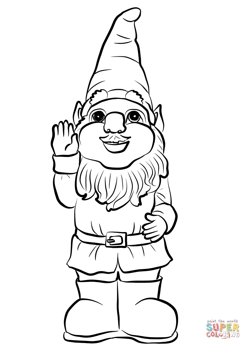 how to draw a gnome artstation wizard gnome kao valer how draw to a gnome