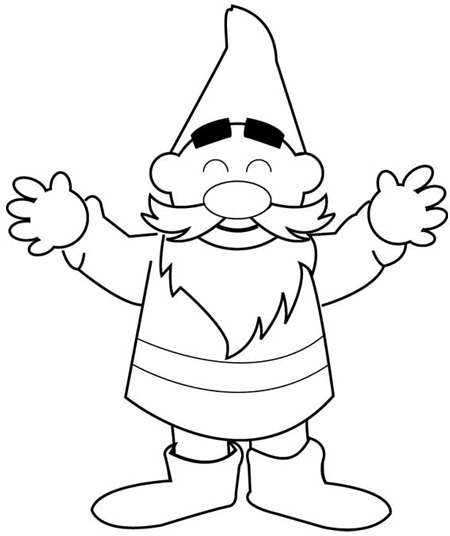 how to draw a gnome garden gnome drawing at getdrawings free download a gnome to draw how