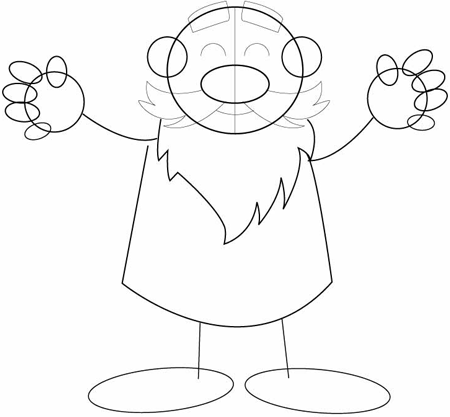 how to draw a gnome garden gnome drawing at getdrawings free download to a how gnome draw