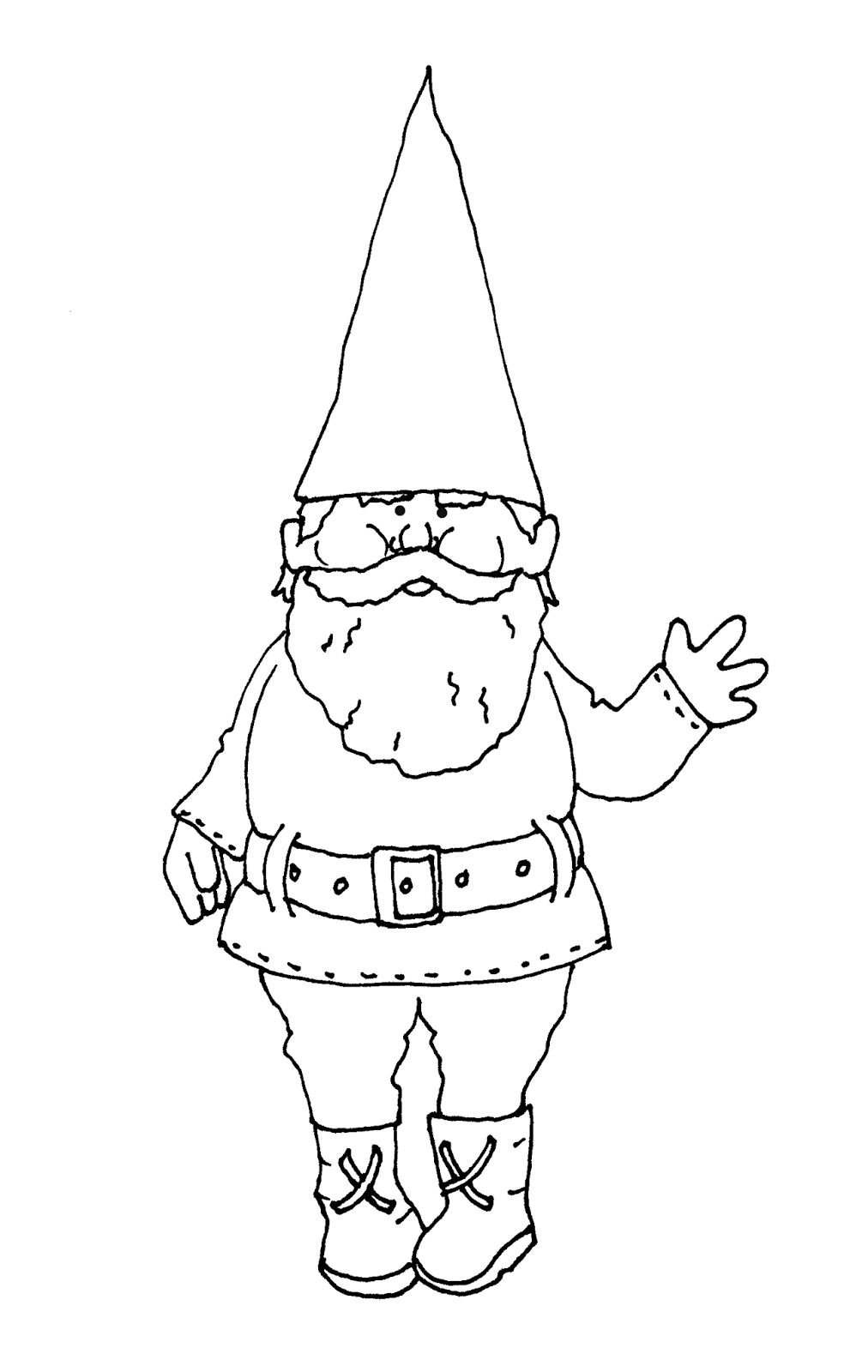 how to draw a gnome gnomes drawing at getdrawings free download draw a how to gnome