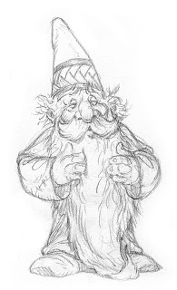 how to draw a gnome how to draw a gnome how gnome a draw to