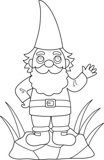 how to draw a gnome how to draw a gnome step by step stuff pop culture how a draw gnome to