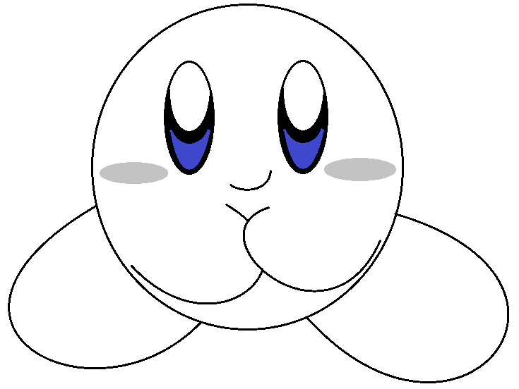 how to draw a kirby bomb kirby pencil by riodile on deviantart draw a kirby how to