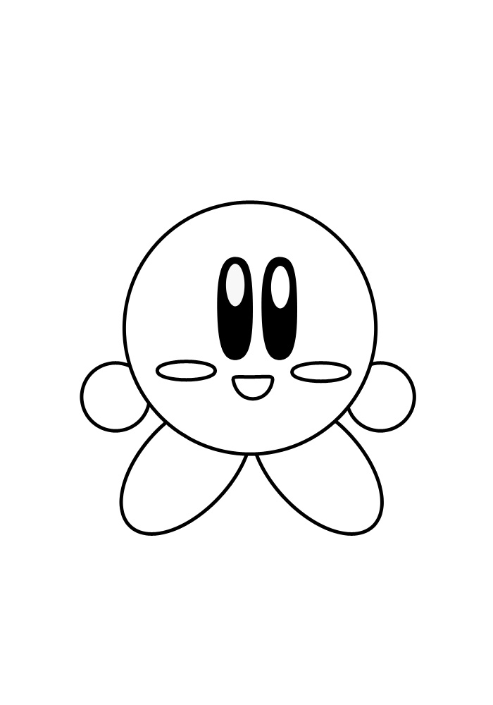how to draw a kirby how to draw kirby from super smash bros step 0png 800 draw how a kirby to