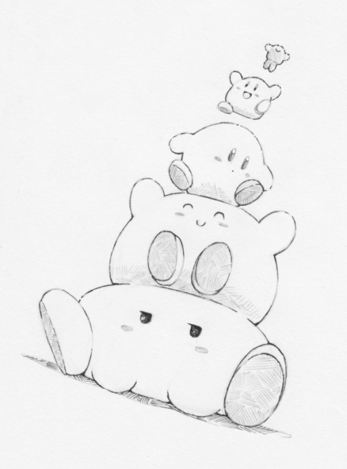 how to draw a kirby kirby coloring pages free download on clipartmag draw to how kirby a