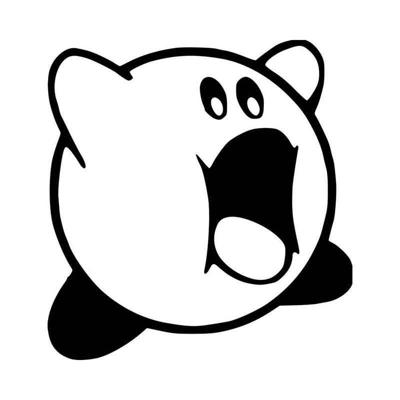 how to draw a kirby kirby drawing at getdrawings free download kirby a how to draw