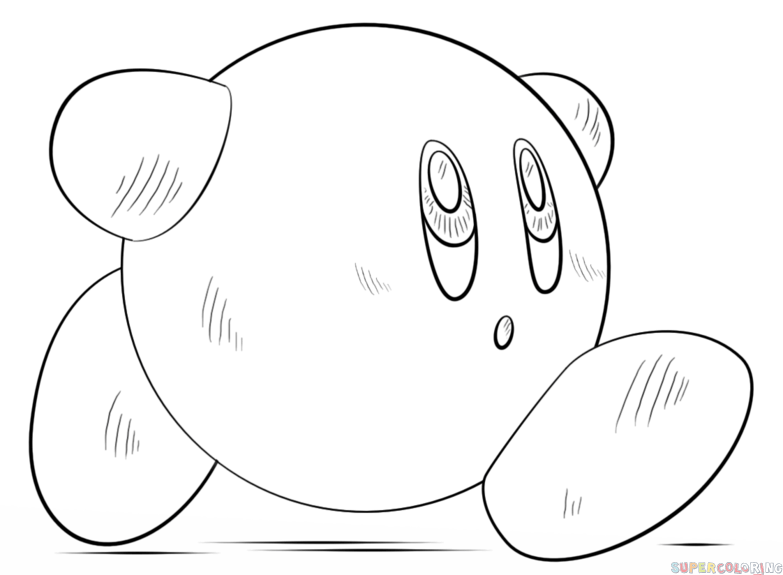 how to draw a kirby kirby outline by wildjoker101 on deviantart kirby a draw to how