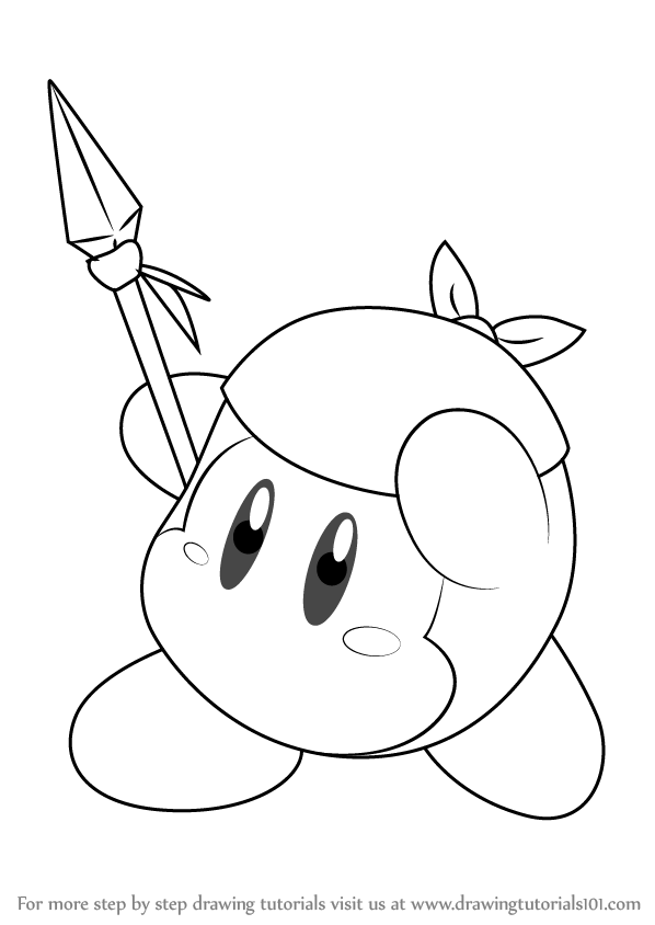 how to draw a kirby kirby sleeping coloring page coloring pages cute disney how kirby draw to a