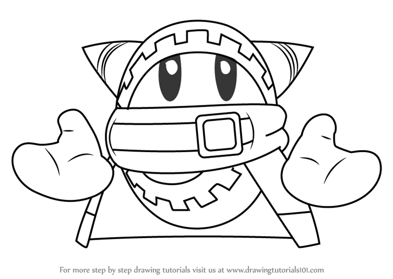how to draw a kirby learn how to draw boboo from kirby kirby step by step draw how a kirby to