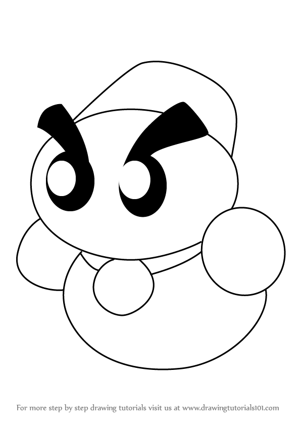 how to draw a kirby learn how to draw chilly from kirby kirby step by step kirby draw a to how