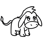 how to draw a mule how to draw a donkey a to mule draw how