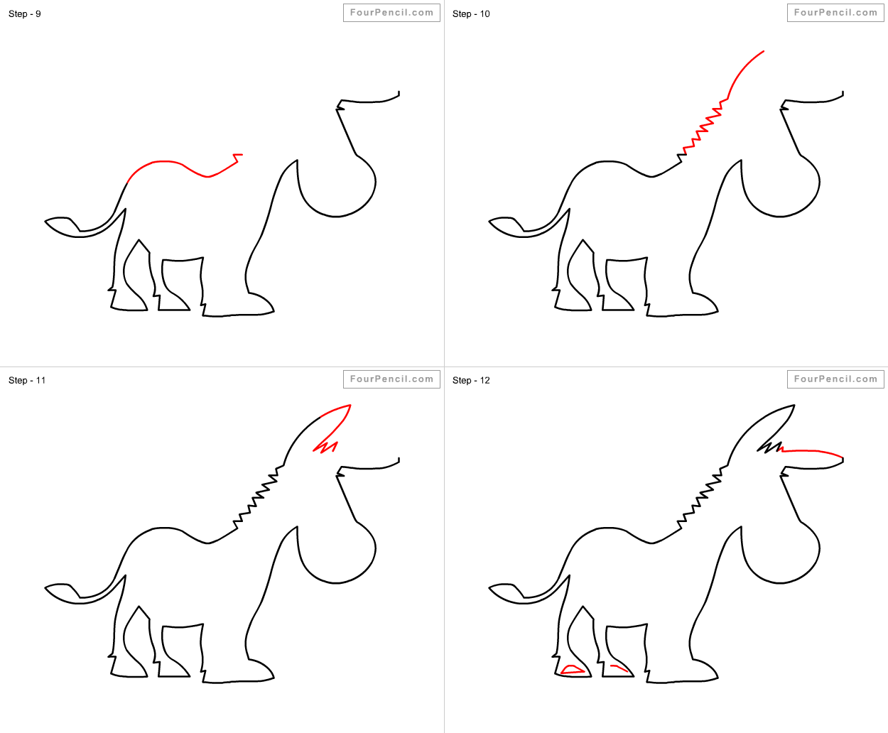 how to draw a mule mule drawing at paintingvalleycom explore collection of how draw mule to a