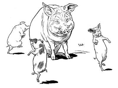 how to draw a pig standing up clip art silhouette of a pig standing up in a vector clip a how to draw up standing pig