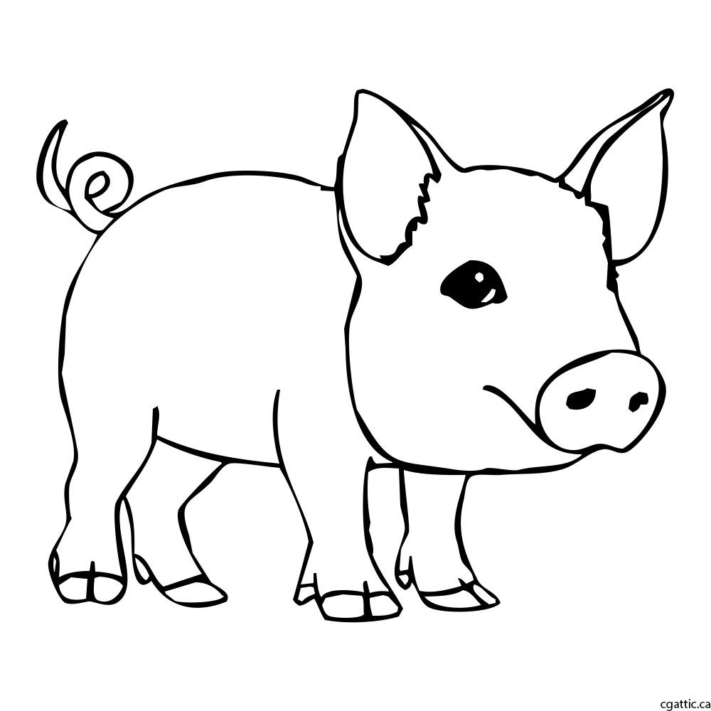 how to draw a pig standing up how to draw pigs drawing tutorials drawing how to to a standing up how draw pig