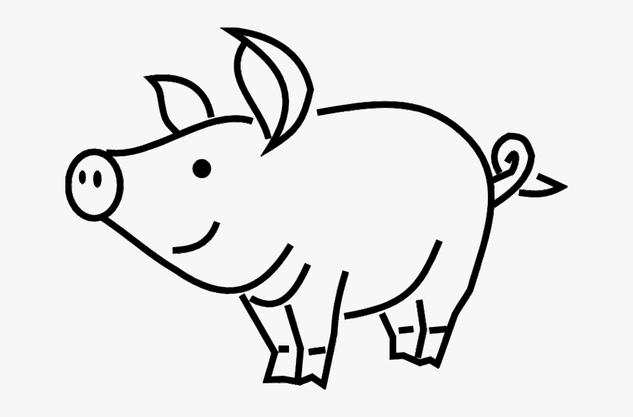 how to draw a pig standing up royalty free line drawing stock pig designs draw pig to a how up standing