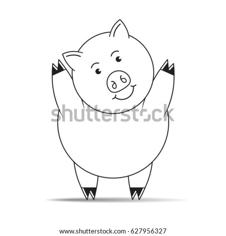 how to draw a pig standing up top 60 drawing of the pig mud clip art vector graphics up how a pig to draw standing