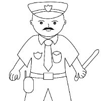how to draw a policeman step by step how to draw a policeman drawingforallnet how policeman by step a draw to step