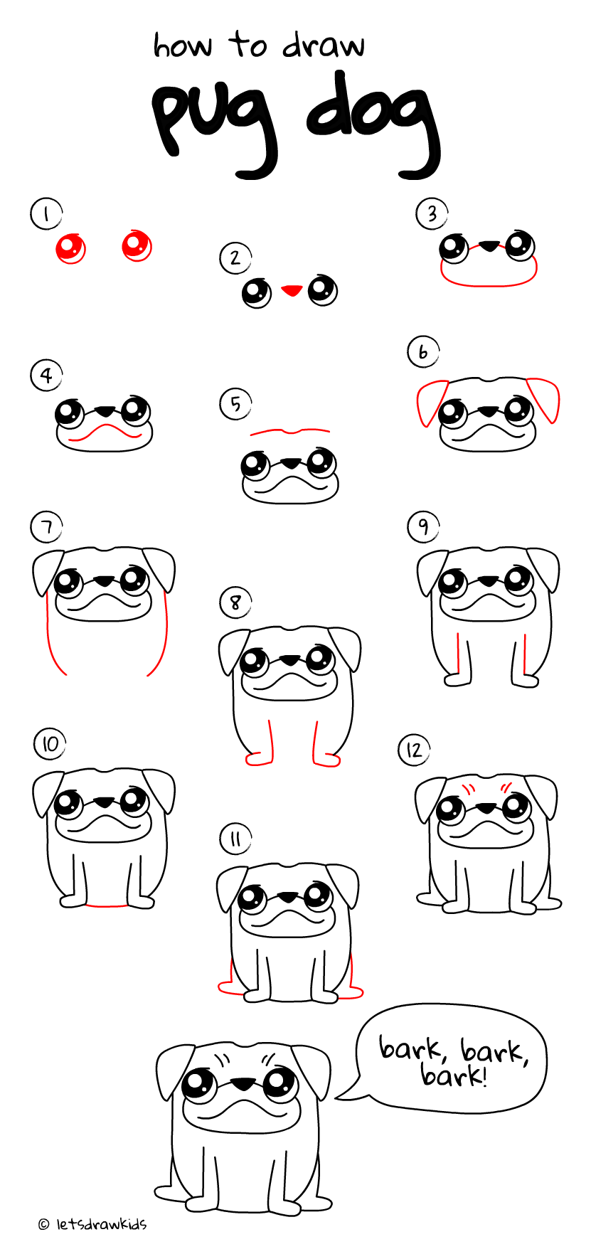 how to draw a pug 84 best how to draw images on pinterest drawing step how a draw to pug