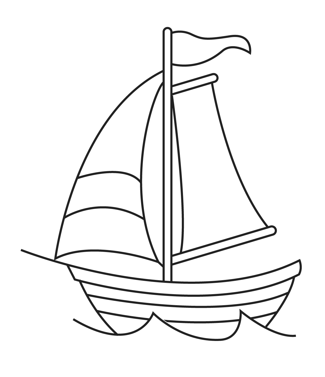 how to draw a sailboat sailboat drawing for kids free download on clipartmag a sailboat draw to how