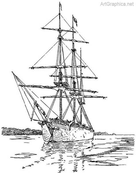 how to draw a sailboat simple ship drawing clipartsco sailboat draw to how a