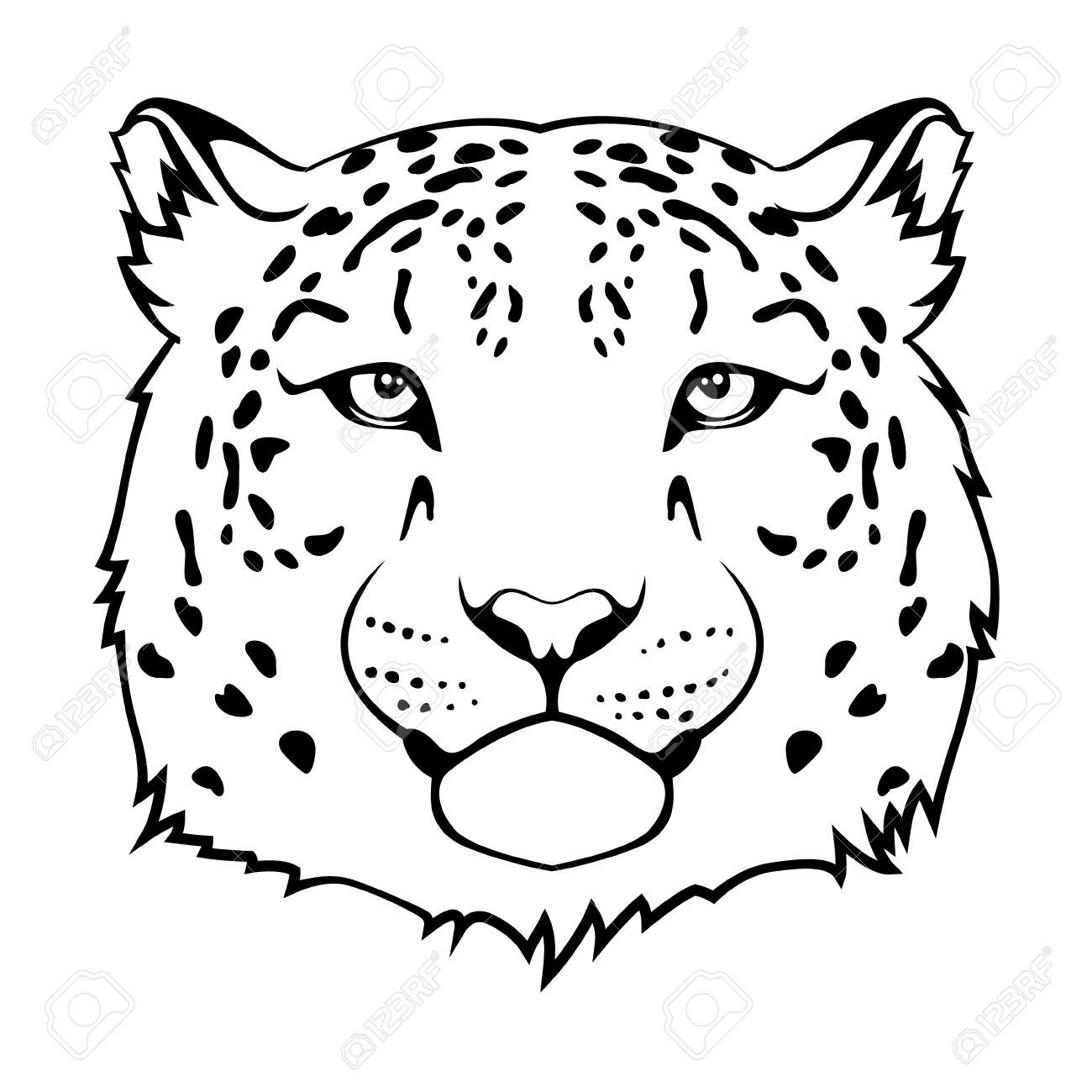how to draw a snow leopard face how to draw a leopard leopard painting snow leopard a leopard to draw face how snow