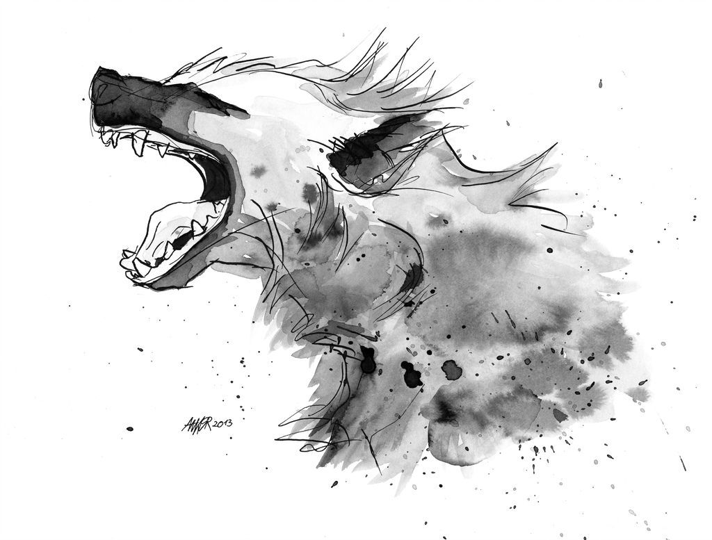 how to draw a spotted hyena indian ink follow me on patreon facebook hyena in 2019 spotted hyena draw how to a
